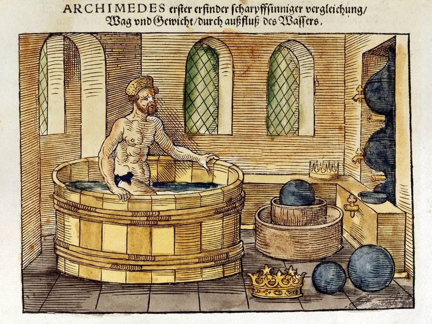Опыт Архимеда