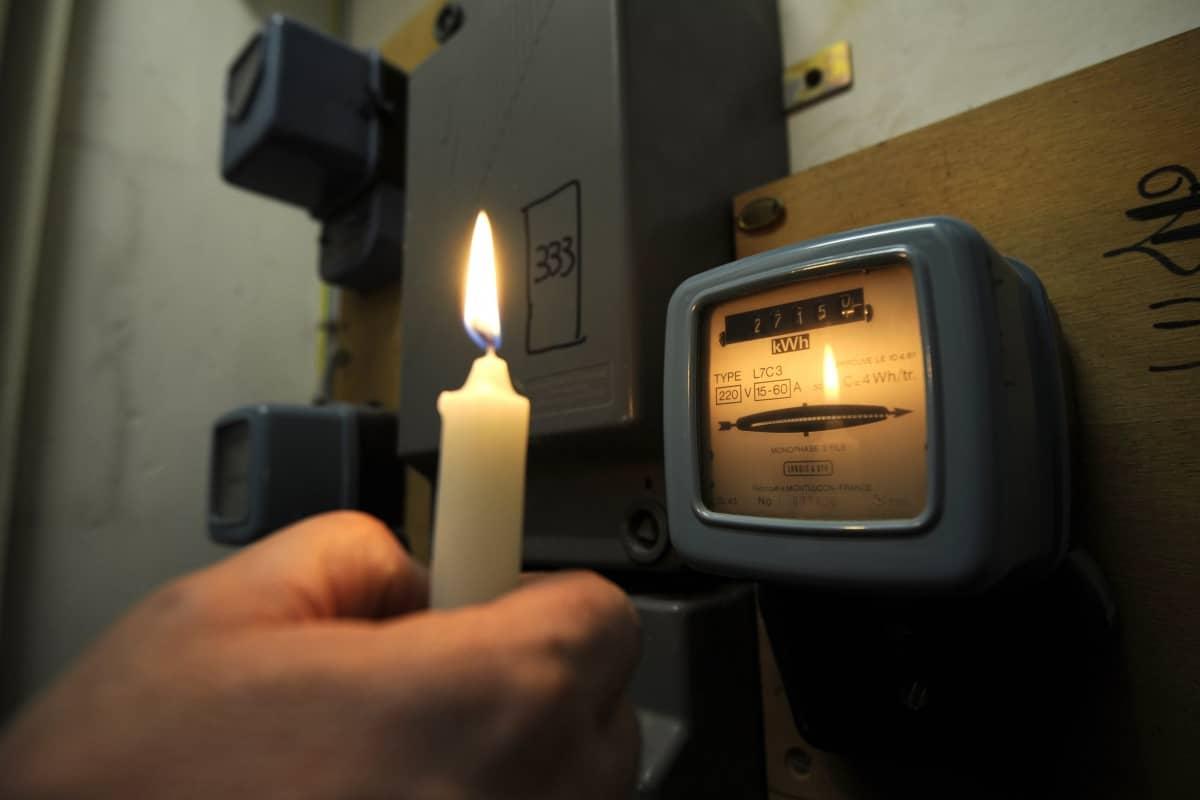Уведомление об отключении электроэнергии при неоплате